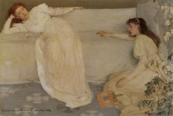 James Abbott McNeill Whistler  -  Symphony In White