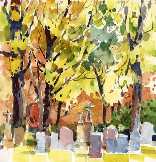 Shari Blaukopf - AutumnChurchyard