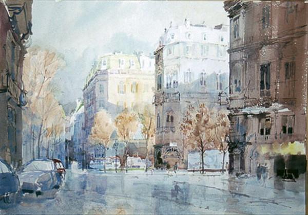Mike Chaplin - Paris Street
