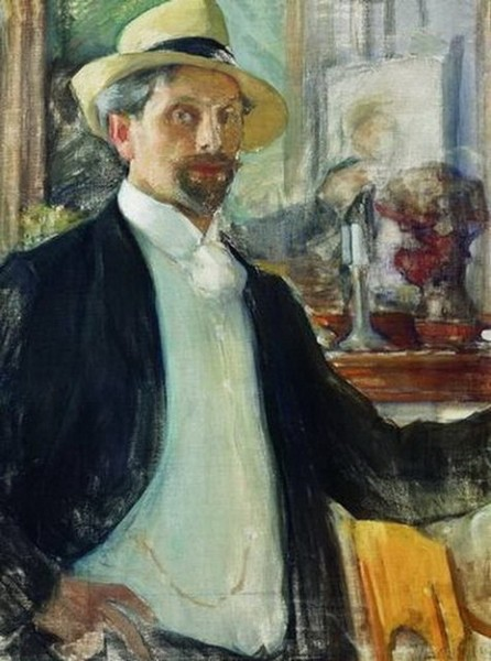 Leonid Pasternak - self portrait