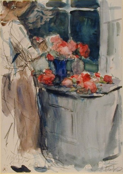 Pasternak -  Arranging Flowers
