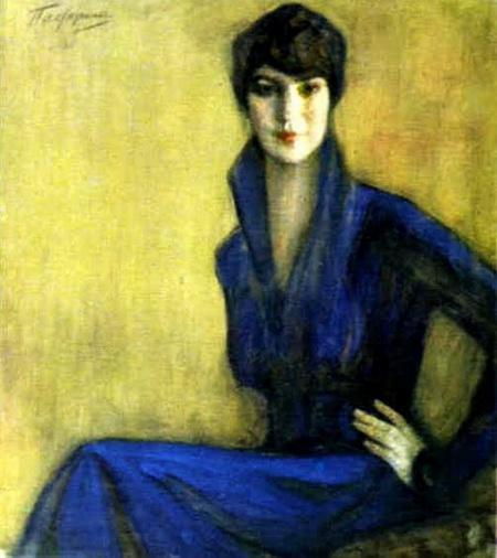 Пастернак -  Portrait of E. Levina