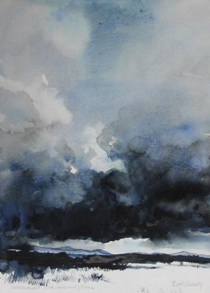 Rod Craig - a dark and cloudy morning