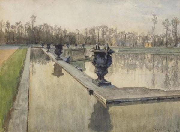 Alexander Benois -  Neptune Fountain at Versailles