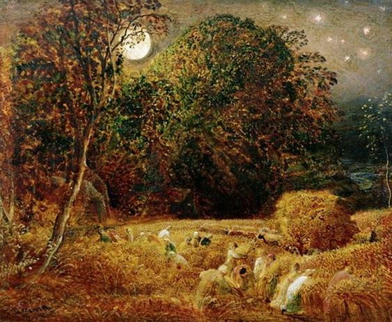 Samuel Palmer - Harvest Moon