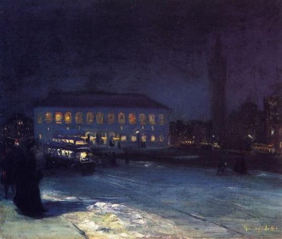 George Luks - Copley Square