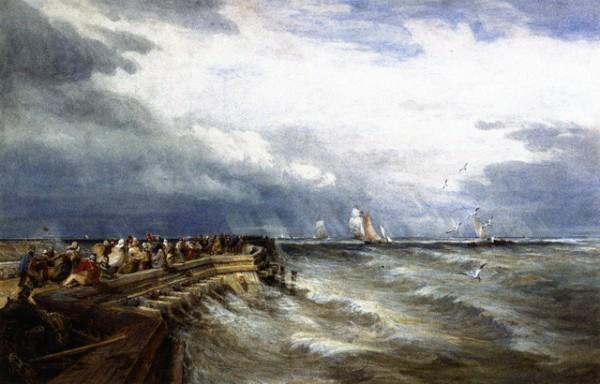 David Cox - Calais Pier 2