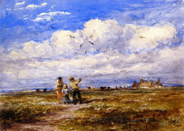David Cox - Flying the Kite
