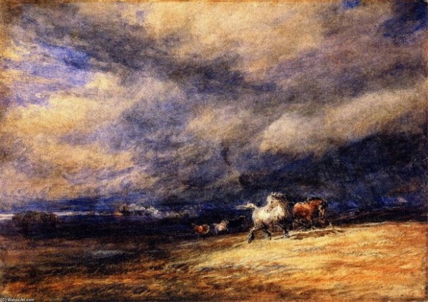 David Cox - Le Train de nui