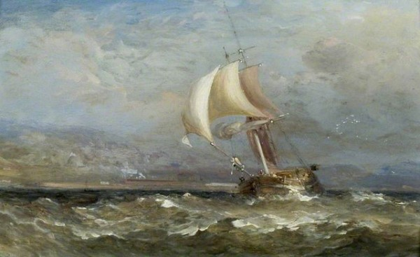 David Cox - морской пейзаж