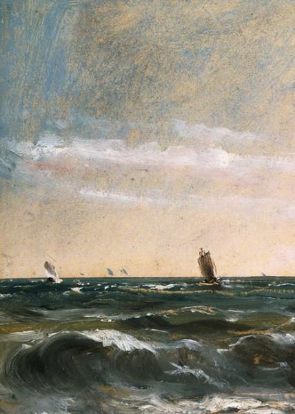 John Constable  -  Coast Scene