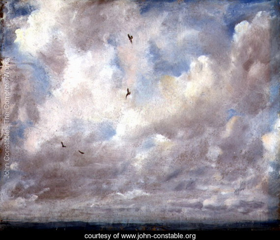 John Constable  - Breaking Sky