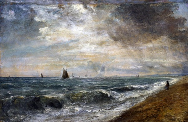 John Constable  - Hove beach