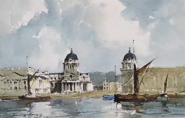 Edward Wesson -  The Royal Hospital and Naval College