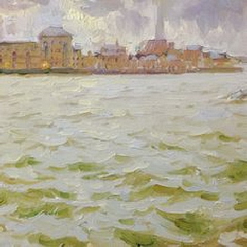 Jose De Juan - Thames high tide