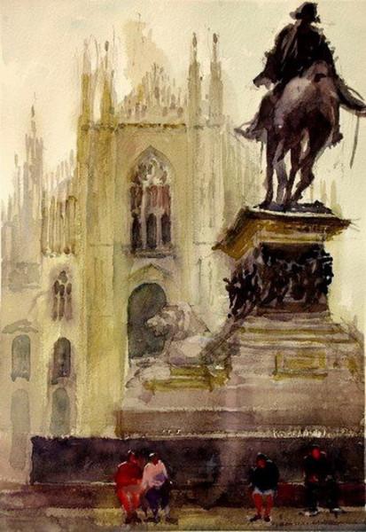 Kazuo Kasai - Duomo di Milano