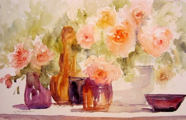 Sandra Strohschein - Glass and Roses