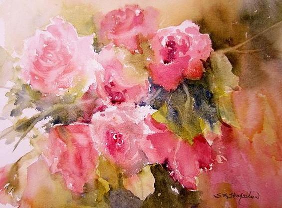 Sandra Strohschein - Raining Roses