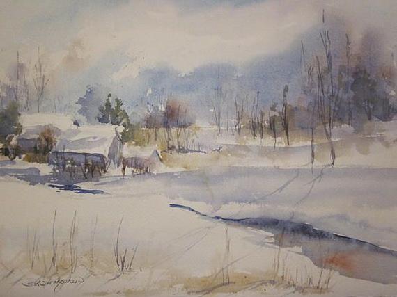 Sandra Strohschein - Snowfields