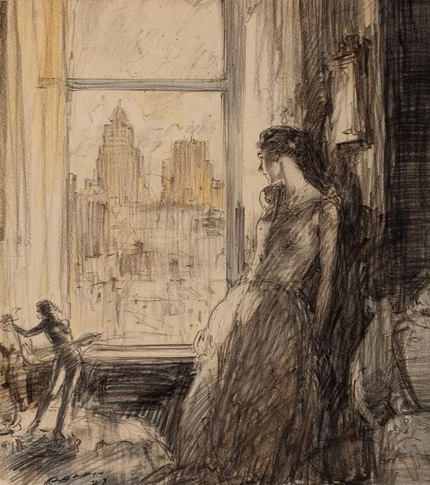 Henry Patrick Raleigh- View from the window