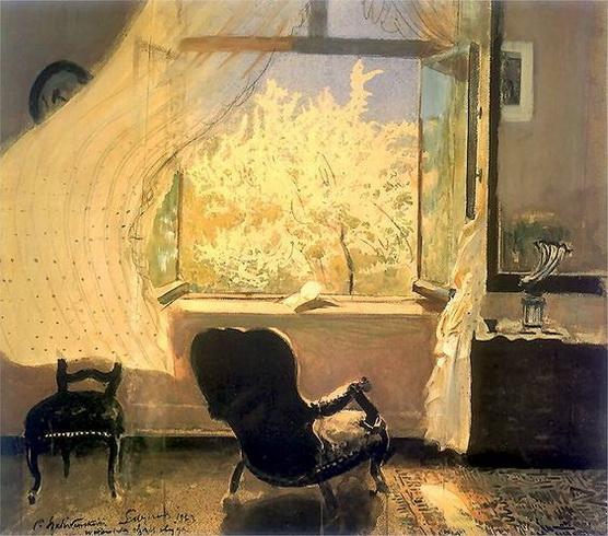 Leon Jan Wyczolkowski - Spring