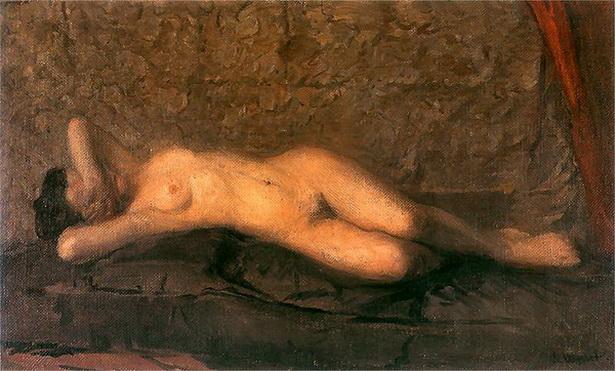 Leon Jan Wyczolkowski - nude