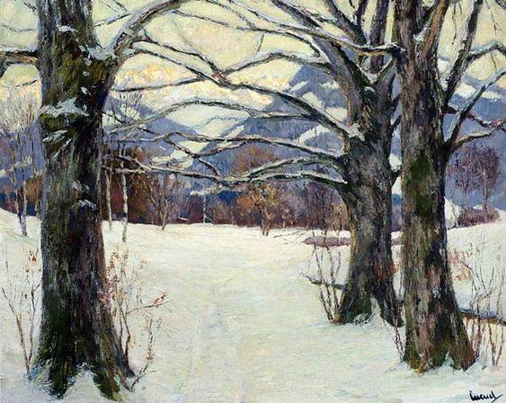 Edward Cucuel - In Winter Light