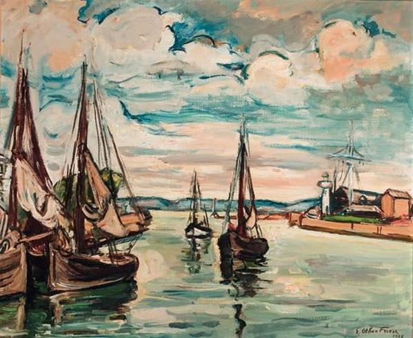 Emile-Othon Friesz -   Les barques
