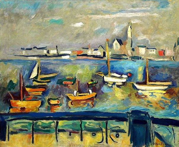 Emile-Othon Friesz -  Port d'Anvers 2