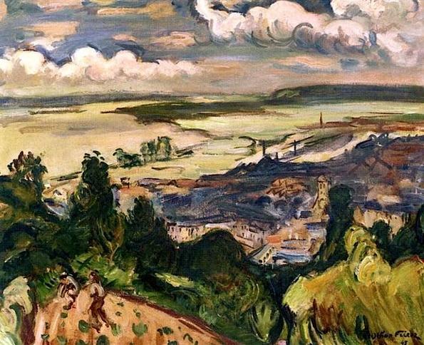 Emile-Othon Friesz -  The Estuary at Honfleur