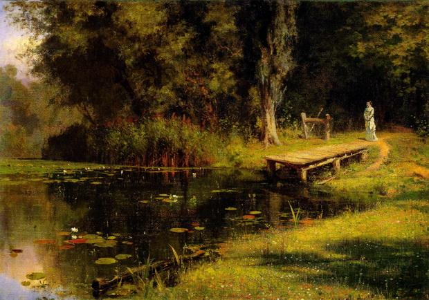 Vasiliy Polenov - У пруда