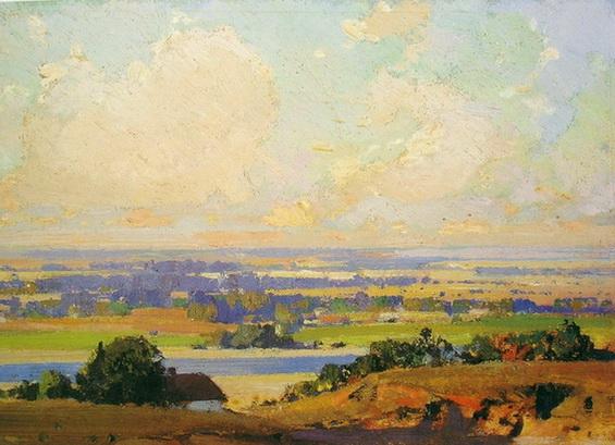 Иван Мясоедов -  Украинский пейзаж