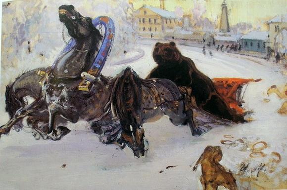 Иван Мясоедов -  Аллегория России