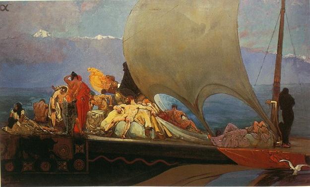 Иван Мясоедов -  корабль
