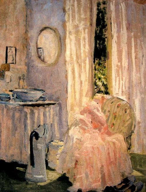 Ethel Carrick Fox - Bedroom Interior