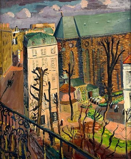 Isaac Grunewald - Paysage