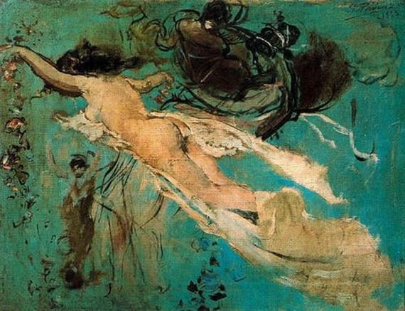 Ignacio Pinazo Camarlench - Desnudo