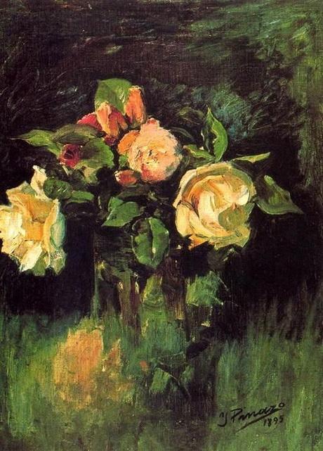 Ignacio Pinazo Camarlench - Roses