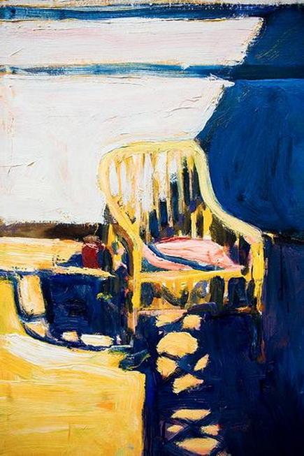 Richard Diebenkorn - Cain Chair Outside