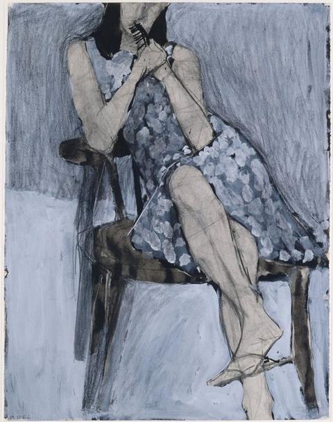 Richard Diebenkorn - Seated Woman