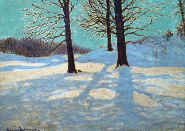 Frank Johnston - Winter Sun