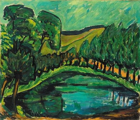 Erich Heckel - At the Pond