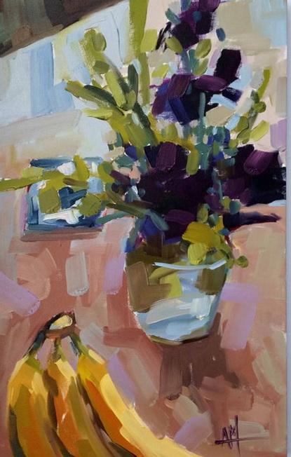 Charles Sovek - Flowers and Bananas