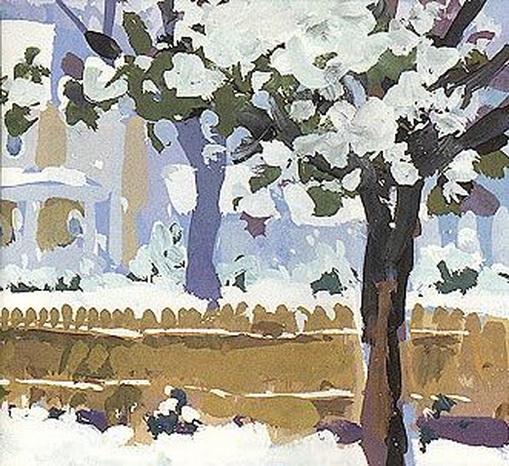 Charles Sovek - Snowy Backyards