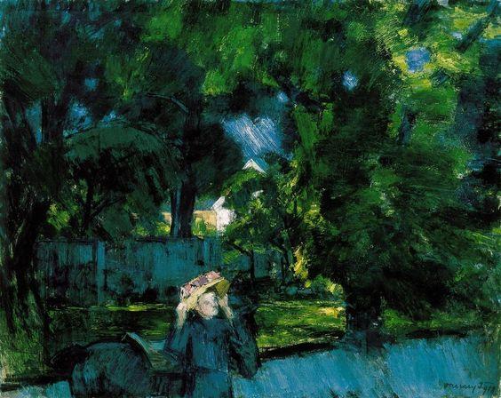 Janos Vaszary - In the Park of Tata