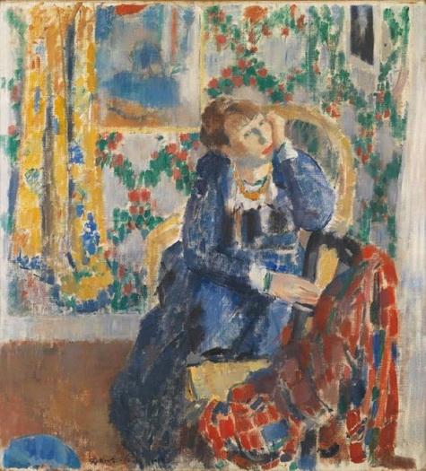Rik Wouters - De dame met het gele halssnoer