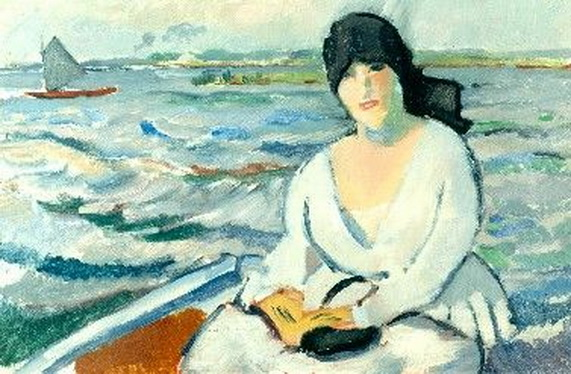 Rik Wouters - In the boat