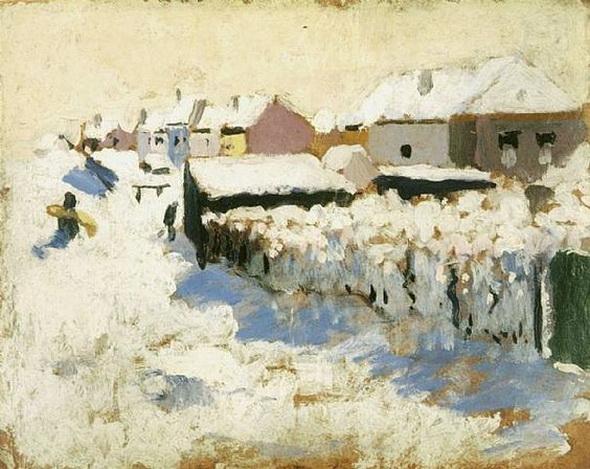 Rik Wouters - Paysage de neige