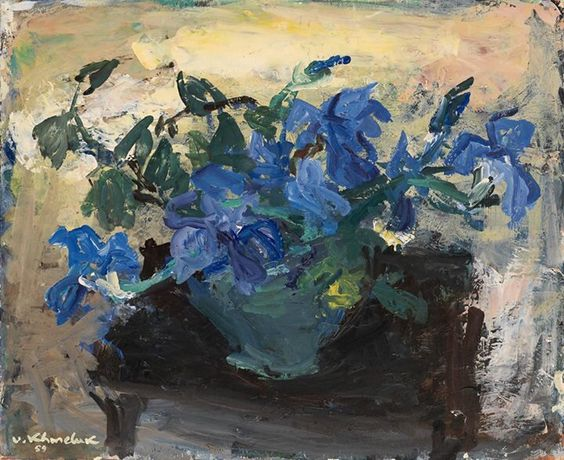 Vassyl Khmeluk - Bouquet of Irises