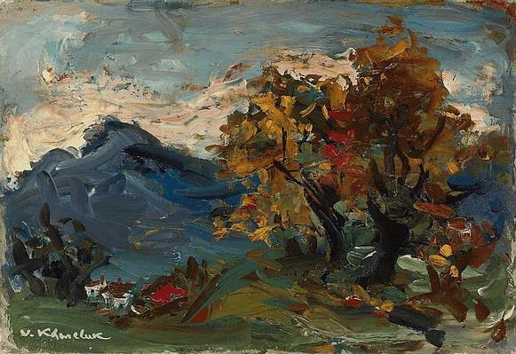 Vassyl Khmeluk - Landscape in Gruyere
